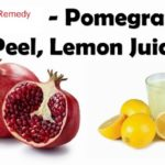 Acne – Home Remedy – Pomegranate peel powder – Lime juice